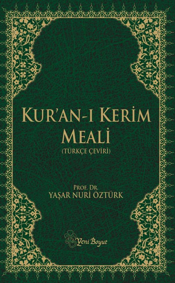 Yaşar Nuri Öztürk - Kur'an-ı Kerim Meali